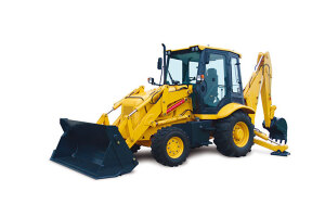 柳工CLG766挖掘裝載機