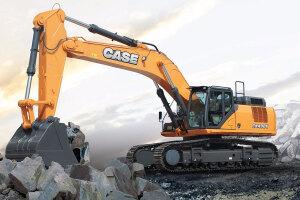 凯斯CX490C履带挖掘机图片集
