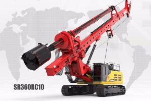 三一SR360RC10旋挖钻机