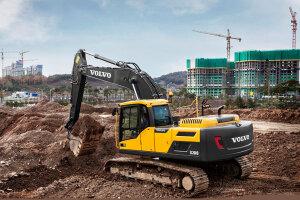 沃尔沃EC200D履带挖掘机图片集