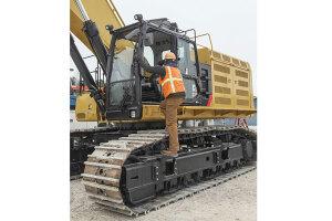 卡特彼勒Cat374FL大型矿用挖掘机图片集
