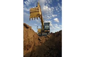 卡特彼勒轮式挖掘机图片集1