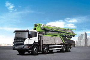 中联重科ZLJ5440THBB 60X-6RZ 碳纤维臂架混凝土泵车图片集