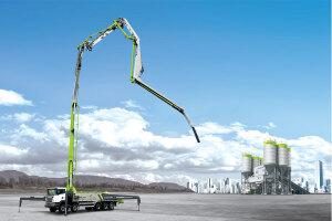 中联重科ZLJ5440THBBE 56X-6RZ复合技术泵车图片集