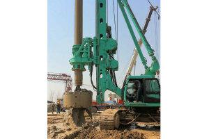 金泰SH36旋挖钻机图片集