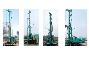 金泰SQ45旋挖钻机图片集