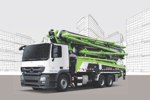 中联重科101-7RZ碳纤维臂架泵车图片集