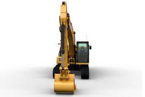卡特彼勒新一代Cat323液压挖掘机图片集
