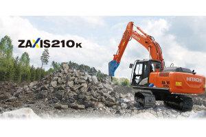 日立ZX210k-5A履带挖掘机图片集