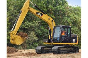卡特彼勒313D2 GC小型挖掘机图片集