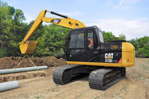 卡特彼勒313D2 GC小型挖掘机