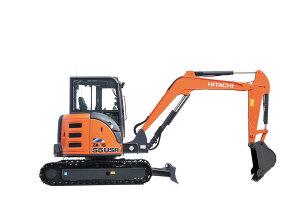 日立ZX55USR-5A履带挖掘机图片集