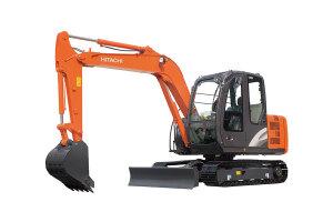 日立ZX60-5A履带挖掘机图片集