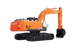 日立ZX240-5A履带挖掘机图片集