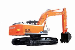 日立ZX260LCH-5A履带挖掘机图片集
