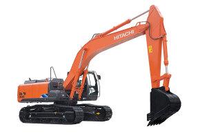 日立ZX300-5A履带挖掘机图片集