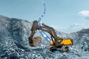 沃尔沃EC950E履带挖掘机图片集