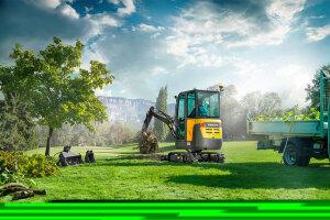 沃尔沃EC18D履带挖掘机图片集