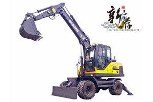 寶鼎BD95W-9A多功能輪式挖掘機
