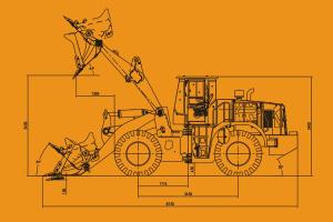 龙工ZL50NC轮式装载机(高卸岩石王)图片集