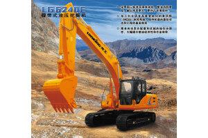 龙工LG6240E履带挖掘机图片集