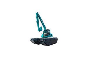 山河智能SWE150SD湿地挖掘机