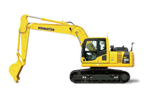 小松PC160LC-8履带挖掘机