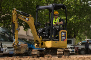 卡特彼勒新一代Cat 301.7 CR液压挖掘机图片集