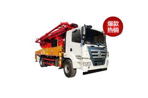 三一SYM5230THB 370C-8(C8系列37米)混凝土泵车图片集