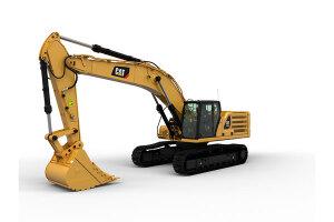 卡特彼勒新一代345 GC液压挖掘机