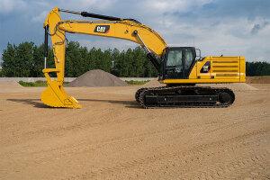 卡特彼勒新一代Cat345GC液压挖掘机图片集
