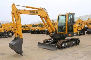 临工E655F挖掘机