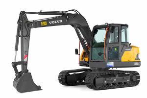 沃尔沃EC75D履带挖掘机