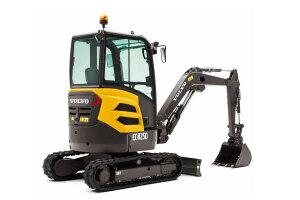 沃尔沃ECR25D履带挖掘机