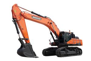 斗山DX500LC-9C履帶挖掘機圖片集