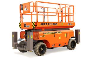 鼎力JCPT1418DC自行走剪叉式高空作业平台图片集