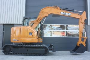 凯斯CX75SR 履带挖掘机图片集