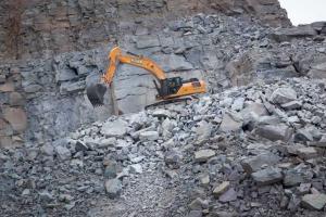 凯斯CX350C履带挖掘机图片集