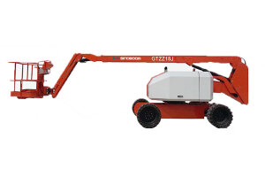 星邦GTZZ18J自行曲臂式高空作业平台