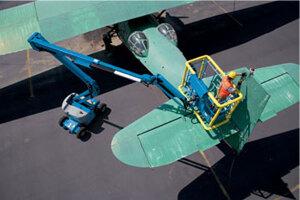 吉尼Genie曲臂式高空作业平台图片集2
