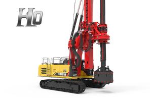 三一SR405R-H10系列旋挖钻机