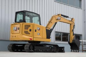 卡特彼勒新一代CAT 306挖掘机图片集
