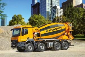 利勃海尔ETM905电动混凝土搅拌车