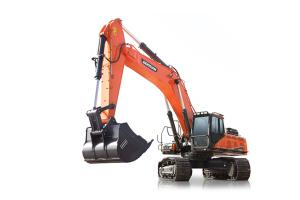 斗山DX490LC-9C履带挖掘机图片集