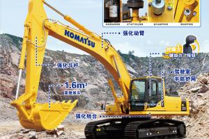 小松PC300-8M0 SE规格大土方挖掘机图片集