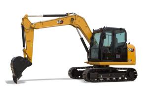 卡特彼勒新一代307迷你型挖掘机