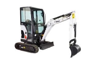 山貓E20小型挖掘機
