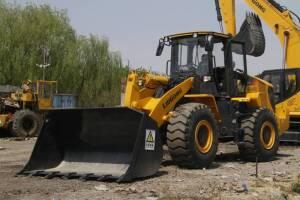 柳工CLG850H(国三)-5t轮式装载机图片集