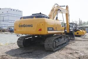 柳工CLG933E(国三)-大型履带挖掘机图片集
