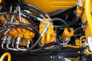 三一SY115C小型液压挖掘机图片集